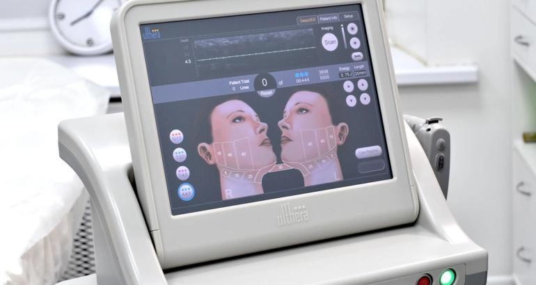 Ультразвуковой SMAS lifting по HIFU технологии коррекции лица и фигуры
